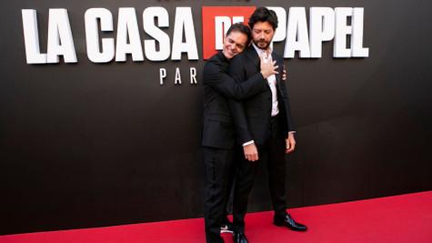 La Casa de Papel için geri sayım ! İşte galadan kareler