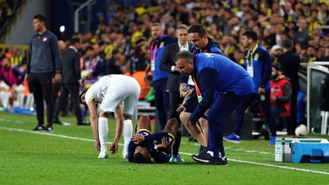 Fenerbahçe'de Rodrigues'in ayak bileğinde zorlanma tespit edildi
