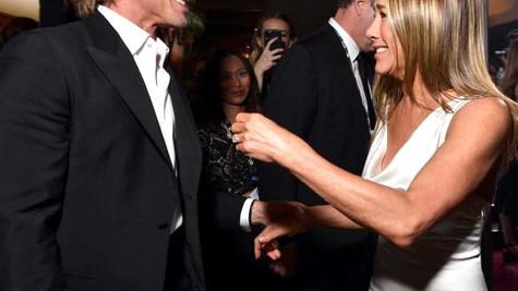 Brad Pitt ile Jennifer Aniston yeniden evleniyor!