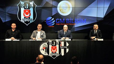 Beşiktaş yeni sponsorunu açıkladı