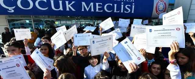 Ankara'da kent yönetiminde Çocuk Meclisi aktif rol alacak