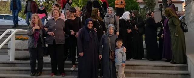 Ankara'da Türk ve mülteci kadınlar biraraya geldi