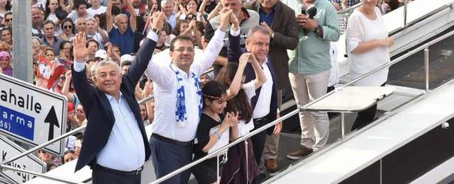 Şükrü Genç: ''Teşekkürler Sarıyer, Teşekkürler İstanbul''
