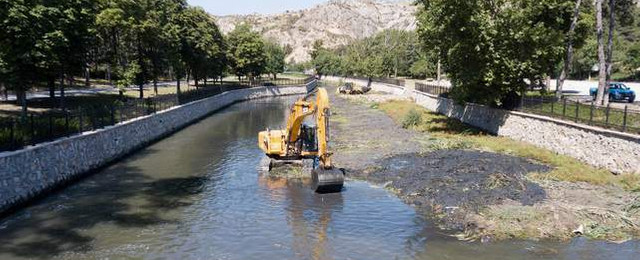 Ankara'da Çubuk 1 Baraj Gölü temizleniyor!