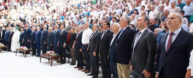 Sarıyerliler Hacı Bektaş-i Veli'yi anma törenleri için Hacıbektaş'ta