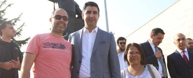 Başkan Gökhan Yüksel, İBB Başkanı İmamoğlu ile Hacıbektaş'ta