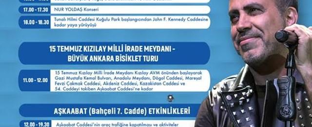 Başkent'te büyük Ankara bisiklet turu