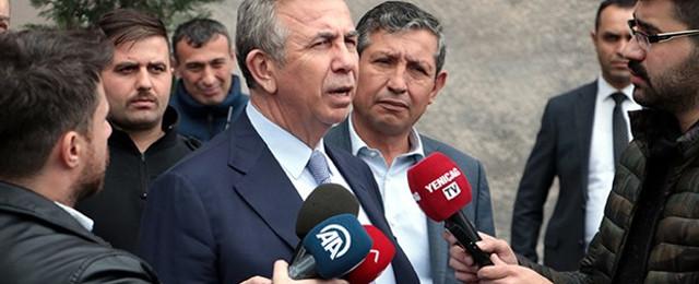 Mansur Yavaş: ''Elazığ'da yaşananlar bize ders olmalı''