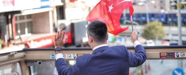 Cumhuriyet'in 97. Yılı Kartal'da büyük bir coşkuyla kutlandı