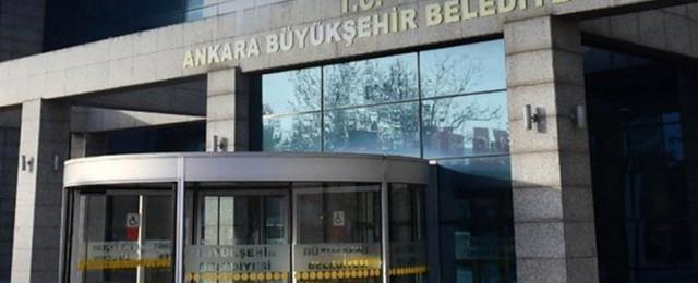 Ankara Büyükşehir Belediyesi'nden AKP'ye pankart tepkisi