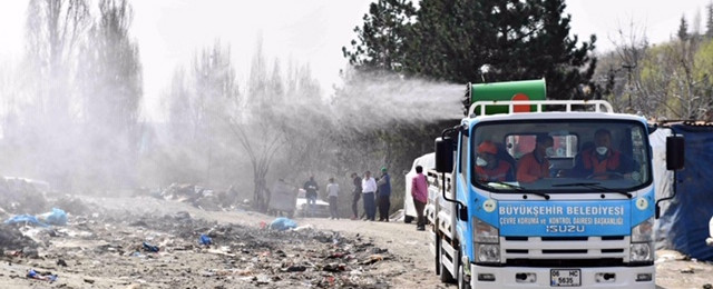 Ankara'da Başkan Yavaş'tan yardım kampanyası