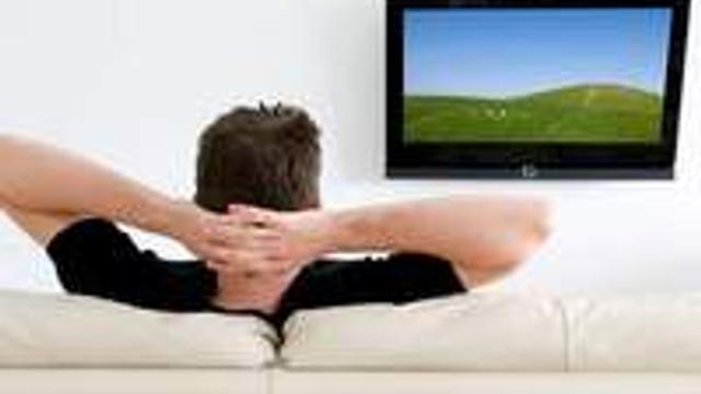 Fazla televizyon izleyen erkekler tehlikede !
