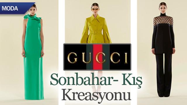 GUCCI 2013-2014 Sonbahar Kış modası