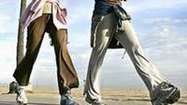 Günde 8 kilometre yürüyün