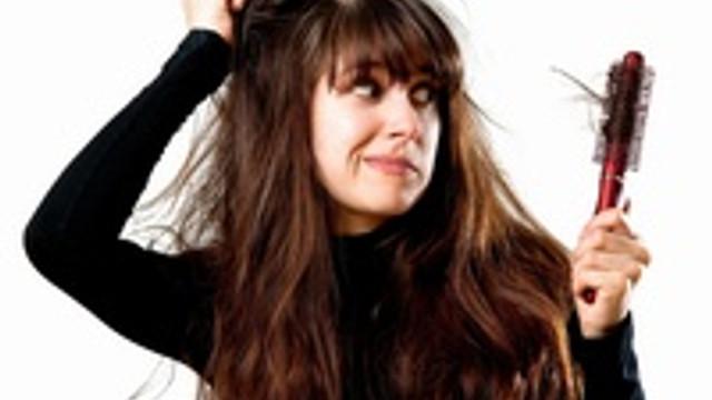 Evlenme stresi saç döküyor !