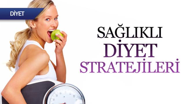 Sağlıklı diyet stratejileri