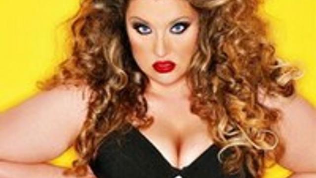 136 kiloluk manken: Velvet D'Amour