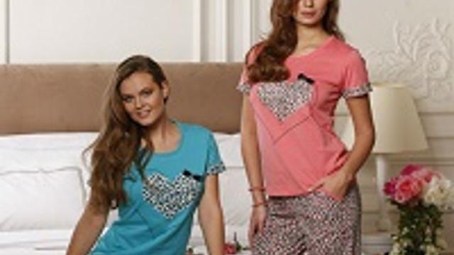 Yeni İnci'den leopar ve puantiye desenli pijamalar
