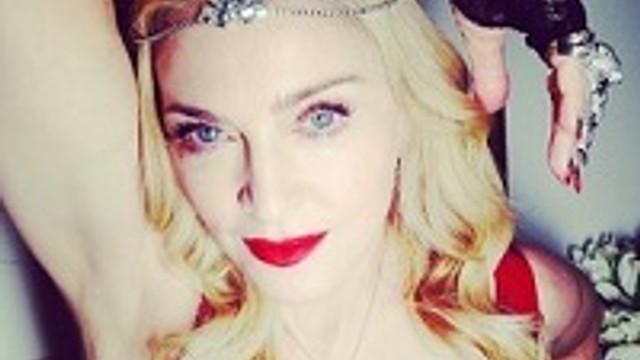Madonna'dan pırlanta partisi