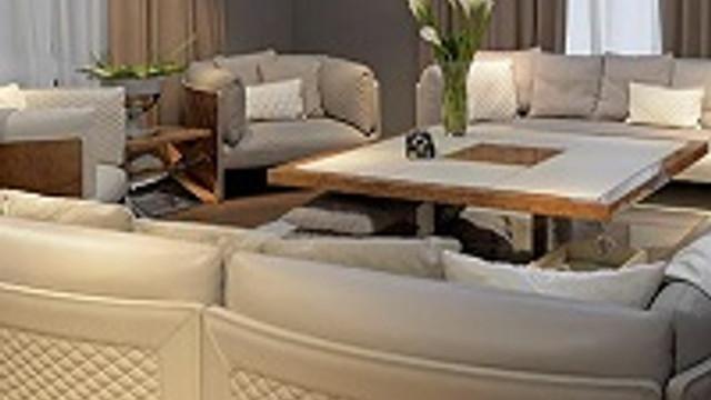 Bentley mobilyalar artık Türkiye'de