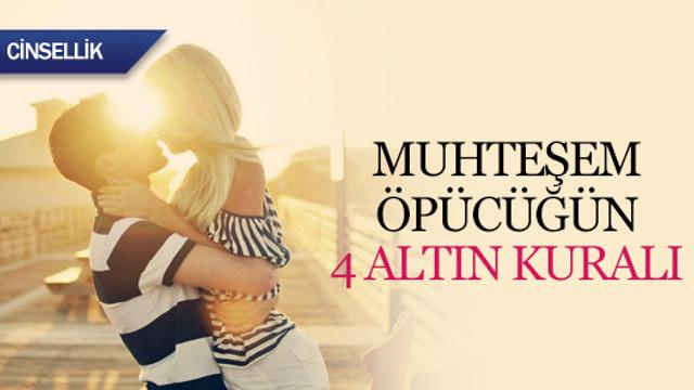 Muhteşem öpücüğün 4 altın kuralı