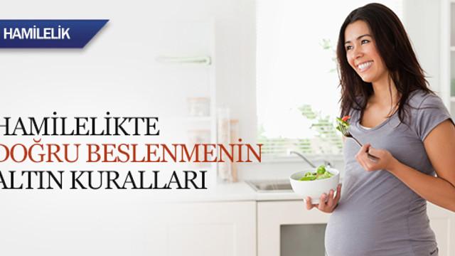 Hamilelikte doğru beslenme rehberi