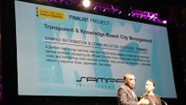 Akıllı Kentler Mimarı SAMPAŞ'a 2 Uluslararası Ödül