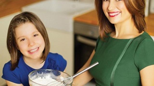 Ayça Kaya'dan çocuklar için beslenme saati