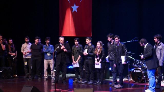 Doğuş üniversitesi liseli müzisyenleri ödüllendirdi