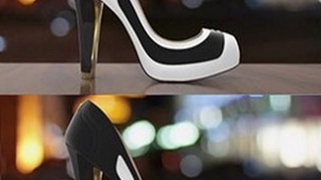 Elbiseye göre renk değiştiren ayakkabı