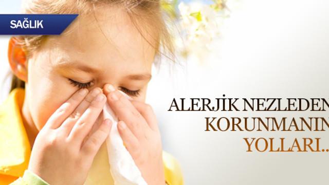 Alerjik nezleden korunmanın yolları