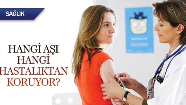Hangi aşı hangi hastalıktan koruyor?