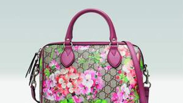 Gucci'den floral bir bakış