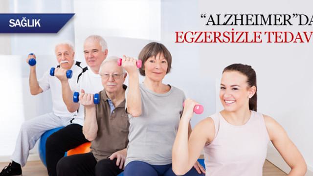 Alzheimer hastalığında egzersizle tedavi