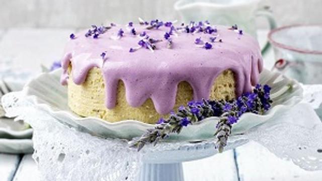 Huzur kokan lavantalı kek