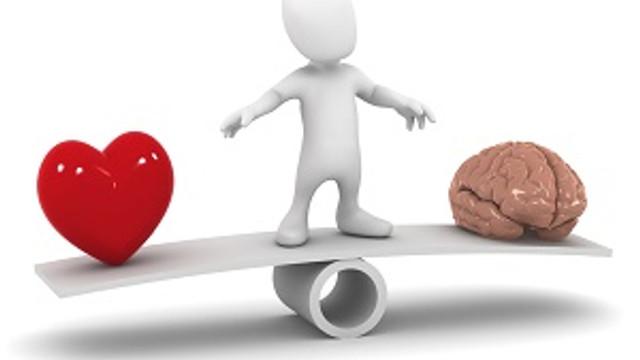 Beyin ile kalp arasındaki ince çizgi; Aşk...