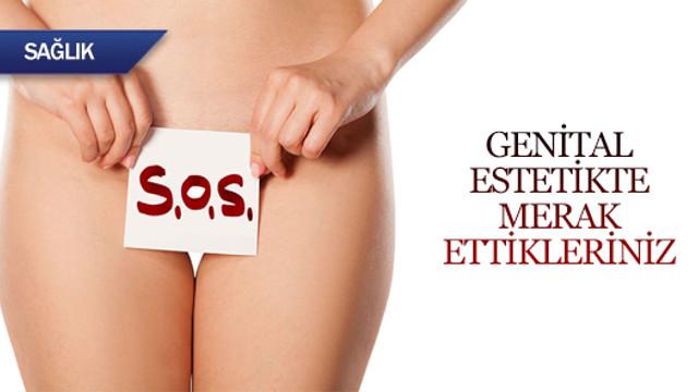 Genital estetikte merak ettikleriniz