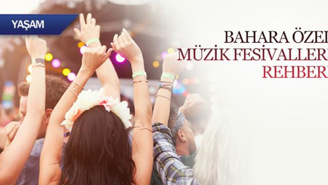 Bahara özel müzik festivalleri rehberi
