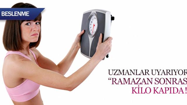 Uzmanlar uyarıyor: Ramazan sonrası kilo kapıda!