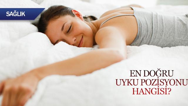 En doğru uyku pozisyonu hangisi?