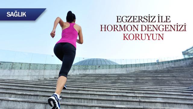Egzersiz ile hormon dengenizi koruyun