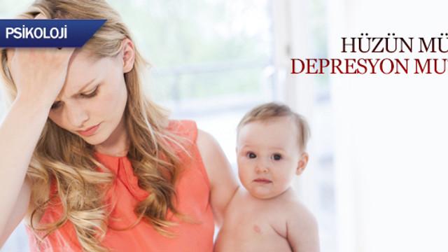 10 anneden 8'i doğum sonrası depresyon yaşıyor!