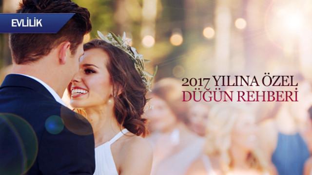 2017 yılına özel düğün rehberi