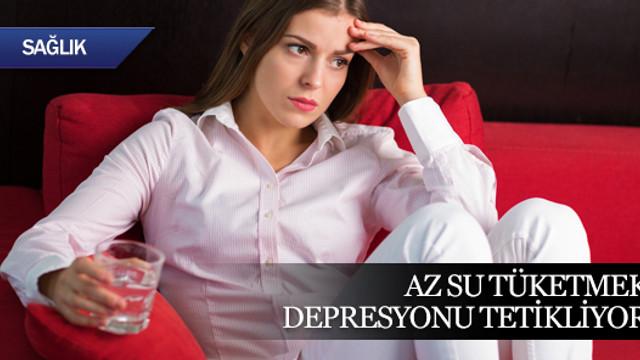 Az su içmek kış depresyonunu tetikliyor