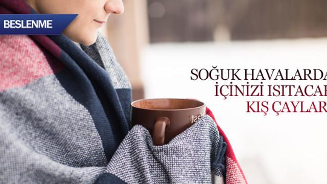 Soğuk havalarda içinizi ısıtacak kış çayları