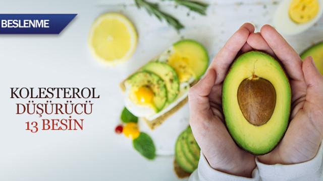 Kolesterol düşürücü 13 besin