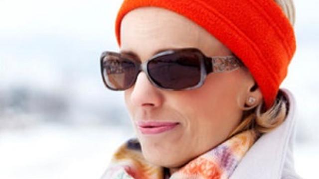 Karlı havalarda ultraviyole gözlük kullanın