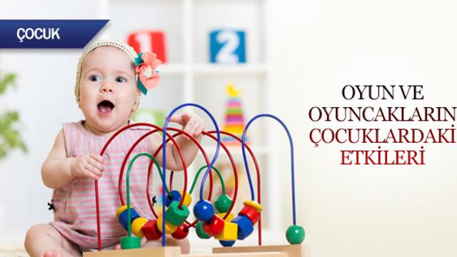 Oyun ve oyuncak seçiminin çocuklardaki etkileri