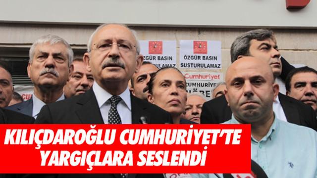 Kılıçdaroğlu Cumhuriyet Gazetesi'nde