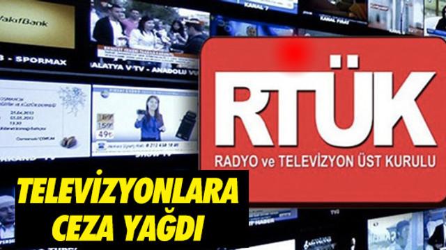 RTÜK iki haftada 24 kanala 123 ceza verdi
